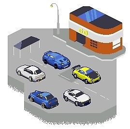 Pixely Car Group by nivek750
