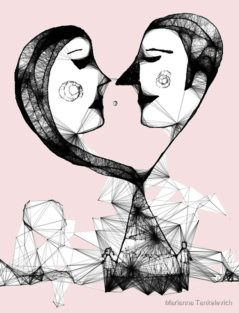 web of love by Marianna Tankelevich