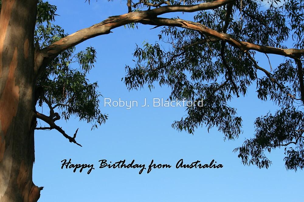 Happy Birthday from AUSTRALIA card by aussiebushstick – Birthday Card Australia