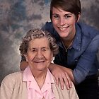Me & my Grandma! by Ray Clarke