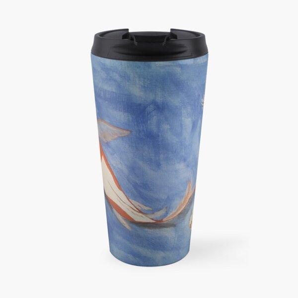 Three Koi Fish Travel Mug