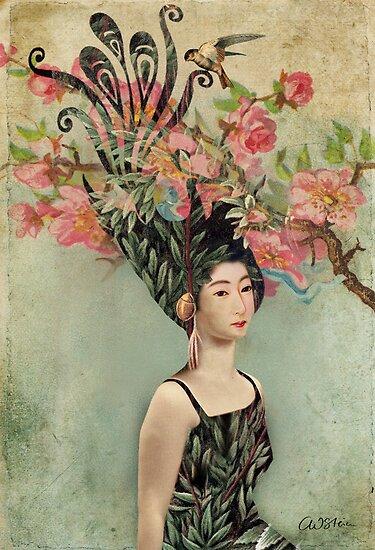 the cherry tree by Catrin Welz-Stein