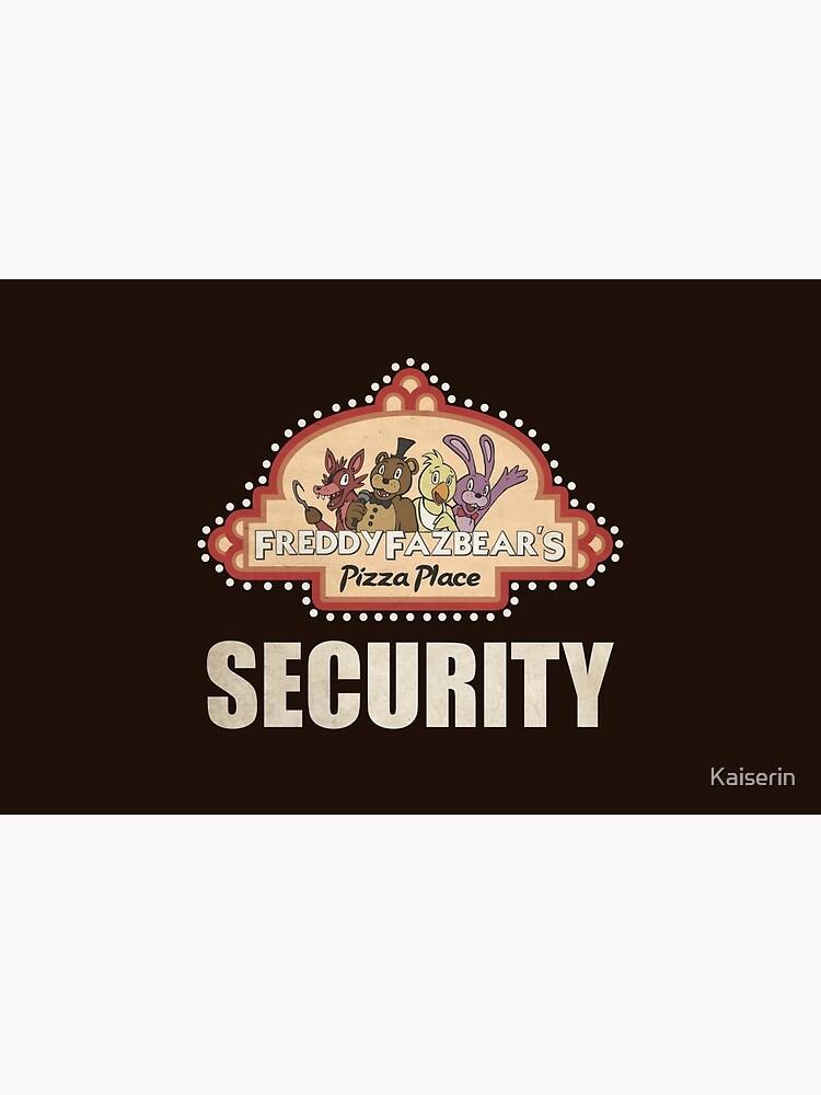 Cinco noches en Freddy's - FNAF - Logotipo de seguridad de Freddy Fazbear de Kaiserin