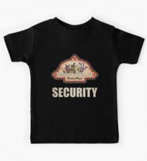 Five Nights at Freddy's - FNAF - Freddy Fazbear's Security Logo Kids Clothes