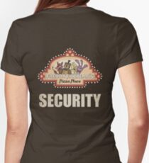 Five Nights at Freddy's - FNAF - Freddy Fazbear's Security Logo Women's Fitted T-Shirt