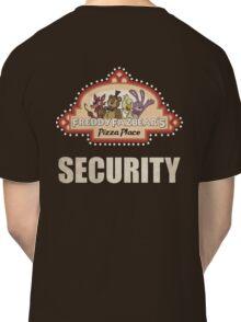 Five Nights at Freddy's - FNAF - Freddy Fazbear's Security Logo Classic T-Shirt