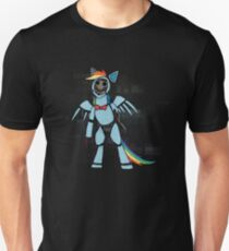 My Little Pony - MLP - FNAF - Rainbow Dash Animatronic Unisex T-Shirt