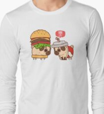 Puglie Burger and Drink Long Sleeve T-Shirt