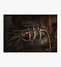 Steampunk - Electrical - Frayed Connections Photographic Print