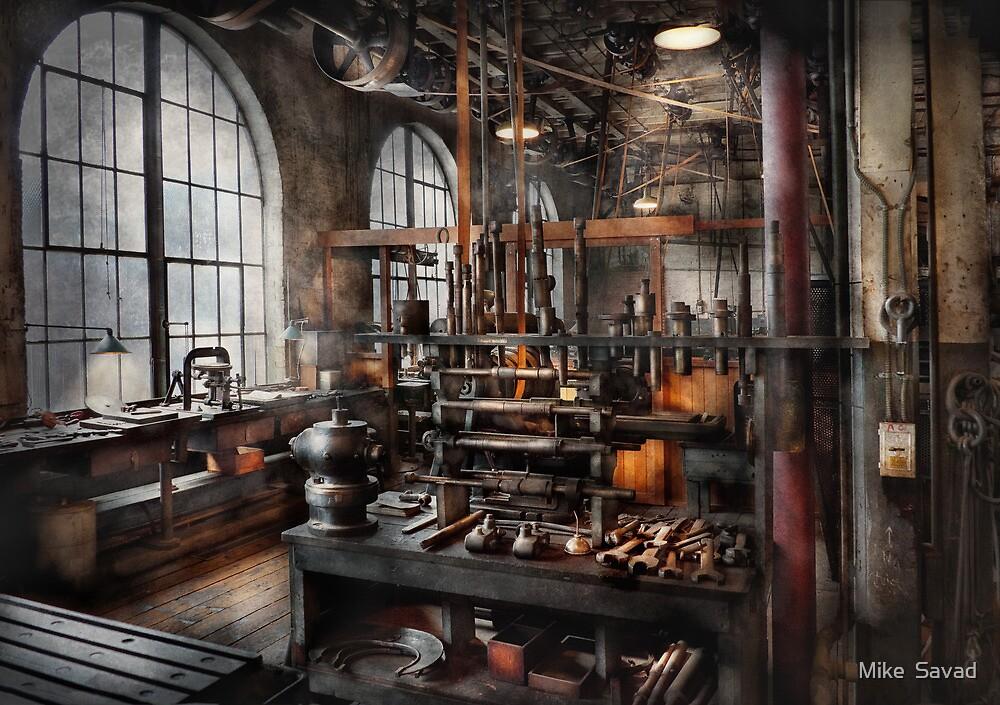 Steampunk Room Steampunk Studio By Michael Savad Redbubble - Steampunk living room