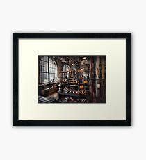 Steampunk - Room - Steampunk Studio Framed Print