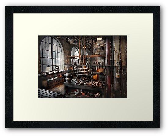 Steampunk - Room - Steampunk Studio by Michael Savad
