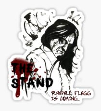 Randall Flagg is coming... Sticker