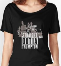 Straight Outta Trumpton Women's Relaxed Fit T-Shirt