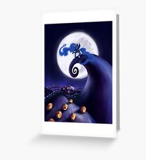 My Little Pony - MLP - Nightmare Before Christmas - Princess Luna's Lament Greeting Card
