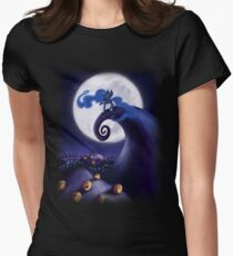 My Little Pony - MLP - Nightmare Before Christmas - Princess Luna's Lament Women's Fitted T-Shirt