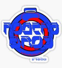 8 rogers bros by ian rogers Sticker