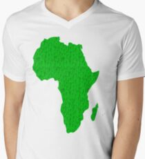 Africa full of happy smiley people Mens V-Neck T-Shirt