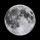 Perigee Moon in Hawaii by Alex Preiss