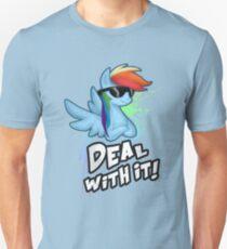 My Little Pony - MLP - Rainbow Dash - Deal With It Unisex T-Shirt