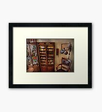Optometrist - The Optometrists Office Framed Print