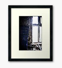 The Blue Door ~ Chateau Noisy Framed Print