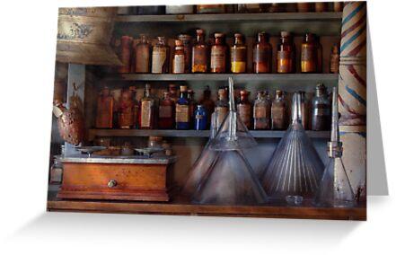 Pharmacy - Master of many trades  by Michael Savad