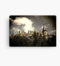 Un Chateau Belge Canvas Print
