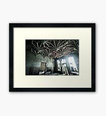Reticular Framed Print