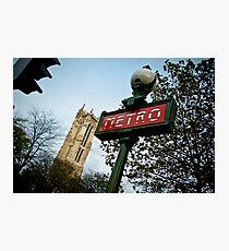 Metro Photographic Print