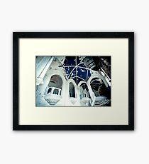 Boundless Blue ~ Chateau Noisy Framed Print