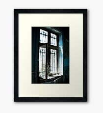 Shuttered ~ Chateau Noisy Framed Print