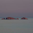 """A little Island named """" Toro"""" at the end of the day by Alessandra Antonini"""