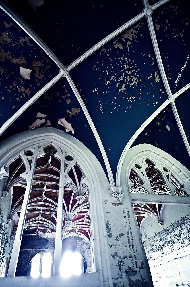 Burning Dark Blue Darkness ~ Chateau Noisy by Josephine Pugh