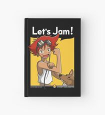 Jamming with Edward Hardcover Journal