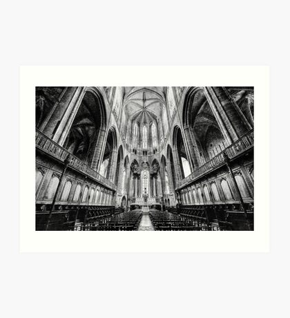 Narbonne Cathedral Art Print