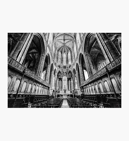 Narbonne Cathedral Photographic Print
