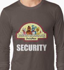 Five Nights at Freddy's - FNAF 2 -  Freddy Fazbear's Security Logo Long Sleeve T-Shirt