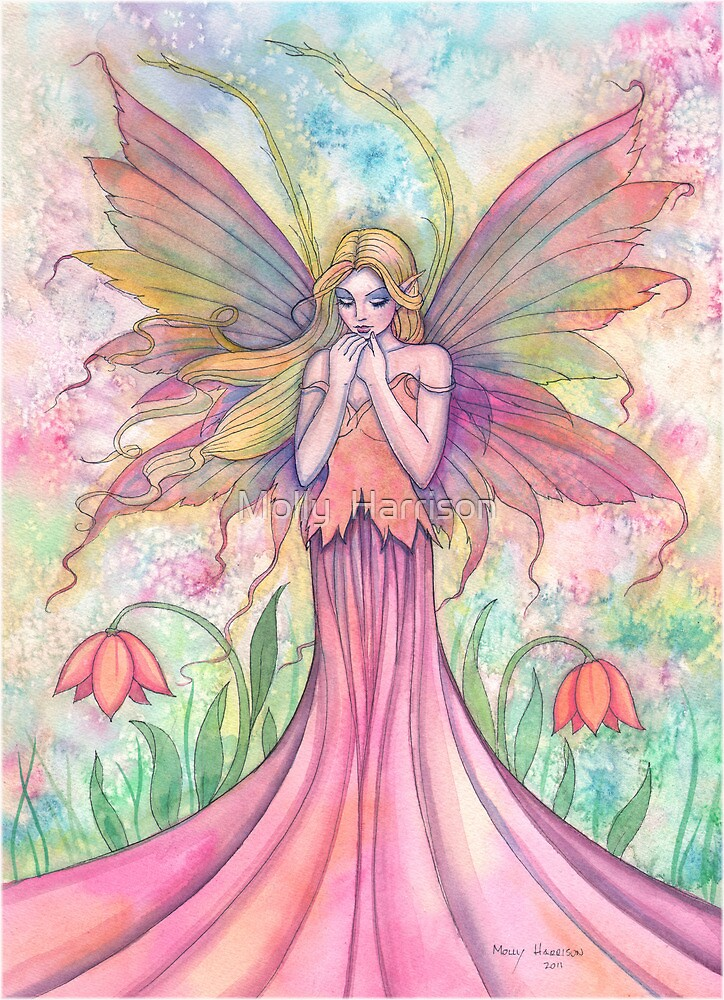 """""Wildflower"" Fairy Art by Molly Harrison"" by Molly ..."