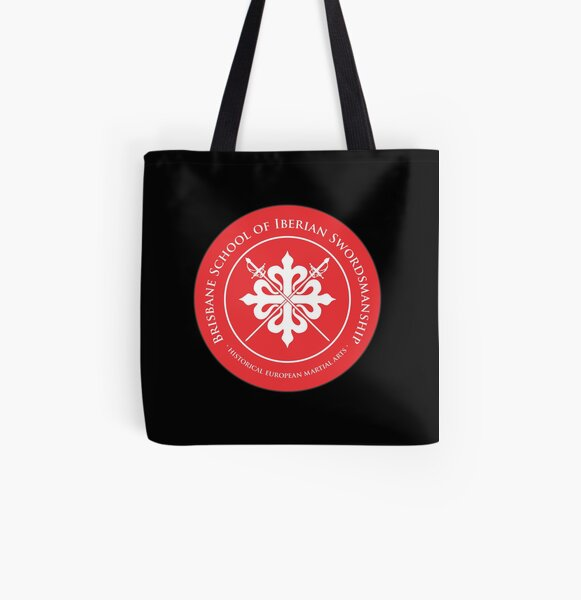 BSIS Logo for any background All Over Print Tote Bag