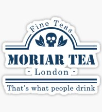 MoriarTea Blue Sticker