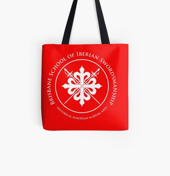 BSIS Logo large All Over Print Tote Bag