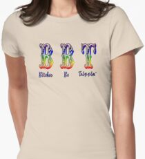 Bitches Be Trippin' Womens Fitted T-Shirt