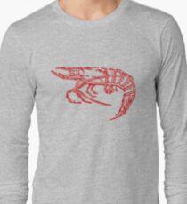 Red shrimp Long Sleeve T-Shirt