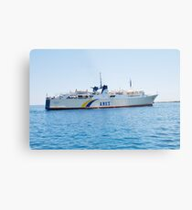 Proteus ferry, Alonissos Metal Print