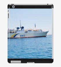Proteus ferry, Alonissos iPad Case/Skin