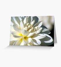 Love is the beauty of the soul Greeting Card
