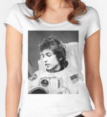 ASTRONAUT BOB Women's Fitted Scoop T-Shirt