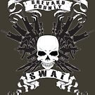 BCSO SWAT SKULLS by Mark Weaver
