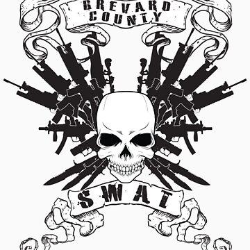 BCSO SWAT SKULLS by 914studios